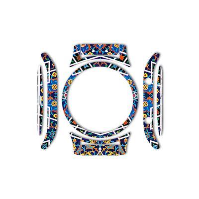 بسته 2 عددی برچسب ماهوت مدل imam reza shrine tile design مناسب برای ساعت هوشمند samsung gear s3 classic