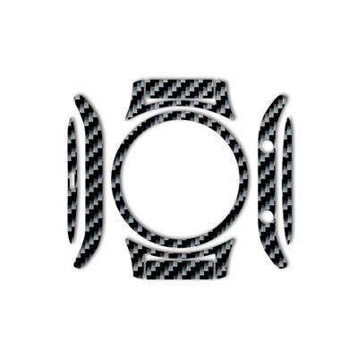 بسته 2 عددی برچسب ماهوت مدل shine carbon special مناسب برای ساعت هوشمند samsung gear s3 classic